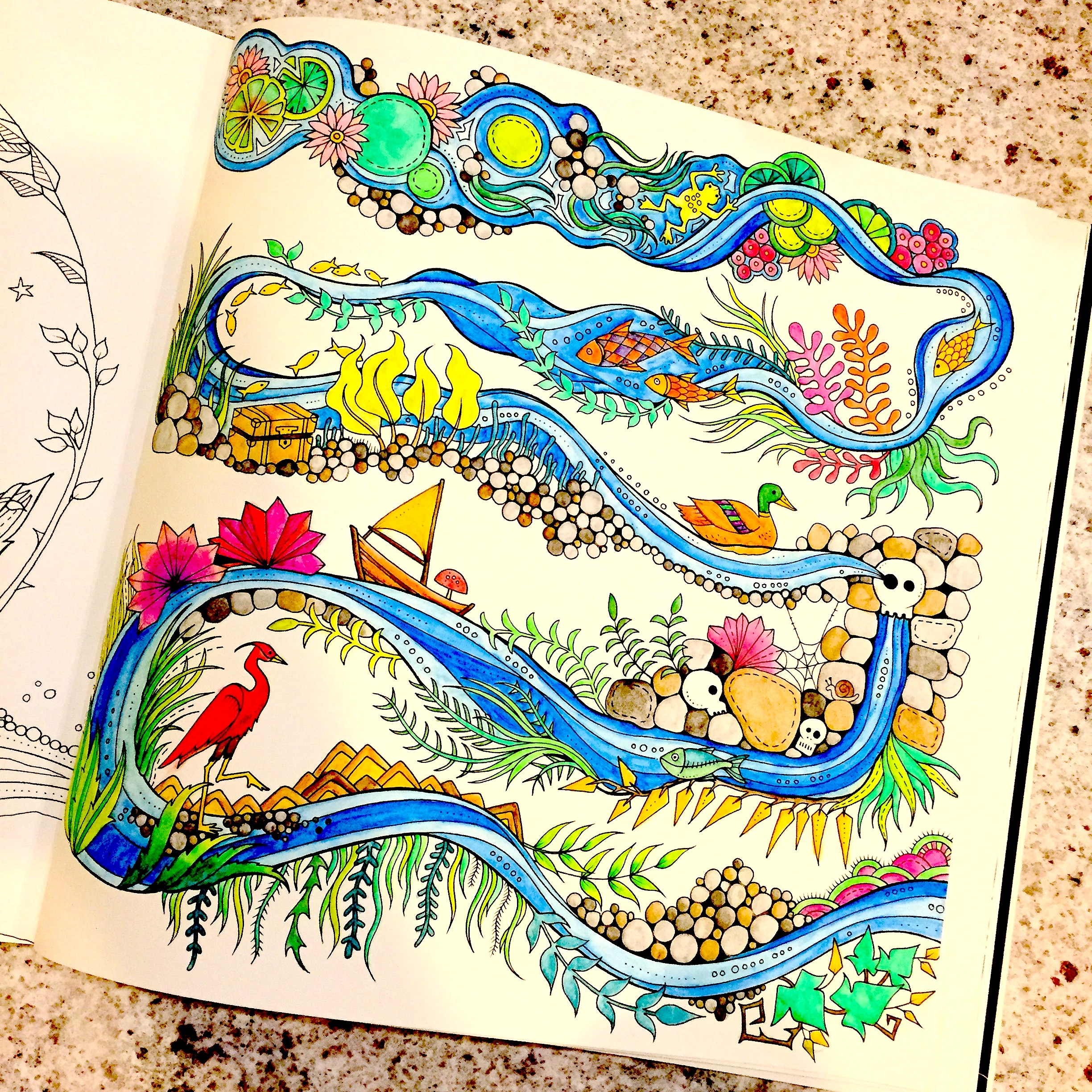 Enchanted forest coloring book website - I Once Had An Art Teacher In High School Who Said She Banned Colouring Books In Her Household While Her Kids Were Growing Up Because It Stifled Their