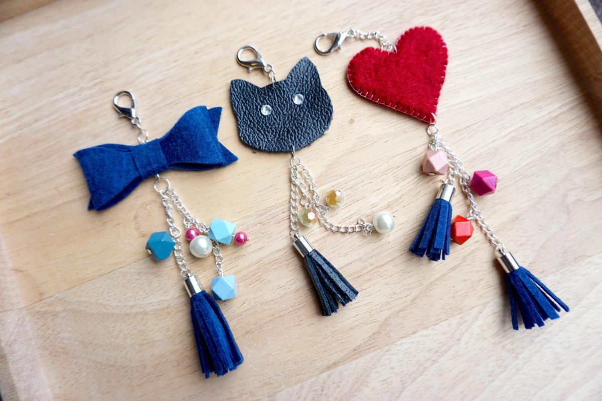 Diy handbag charms loveleah things for Diy pictures